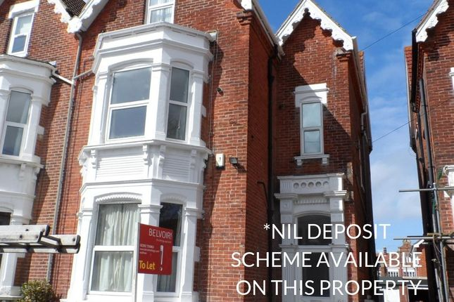 Thumbnail Flat to rent in Craneswater Avenue, Southsea