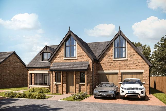 Thumbnail 4 bedroom detached house for sale in Plot 6, Gayton Chase, Strathearn Road, Lower Heswall