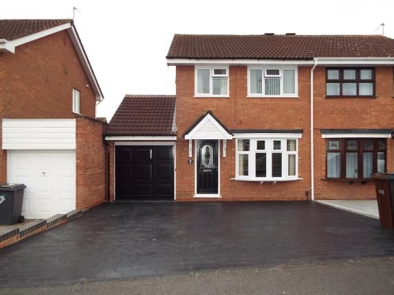 Thumbnail Semi-detached house for sale in Gatcombe Close, Moseley, Wolverhampton, West Midlands