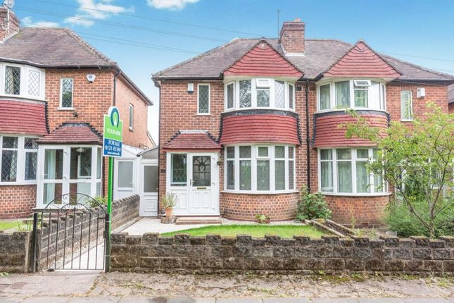 Thumbnail Semi-detached house for sale in Lickey Road, Rednal, Birmingham