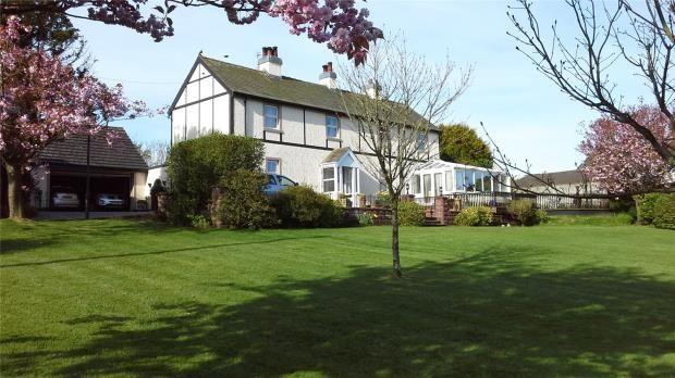 Thumbnail Detached house for sale in Garden House, Gilgarran, Workington, Cumbria
