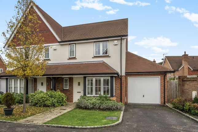 Thumbnail Semi-detached house for sale in Bramble Close, Barns Green