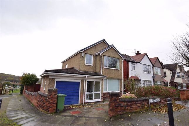 Thumbnail Detached house for sale in Bletchley Avenue, Wallasey, Merseyside