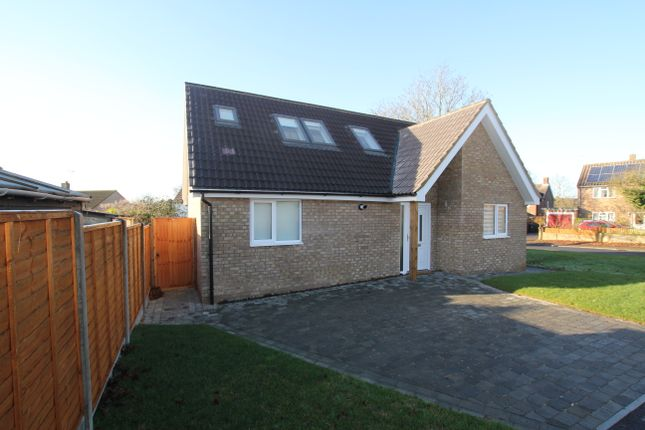 Thumbnail Detached bungalow to rent in Lodge Way, Stevenage