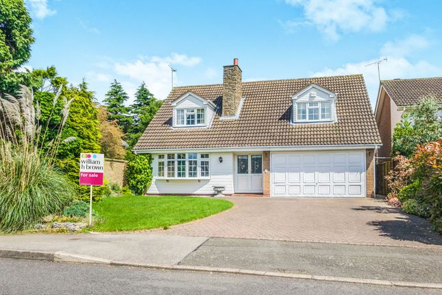 Thumbnail Detached house for sale in The Yews, Oadby, Leicester