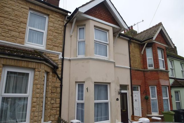 Thumbnail Terraced house for sale in Sidley Street, Bexhill-On-Sea