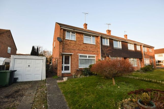 Thumbnail End terrace house for sale in Lynwood Drive, Mytchett, Camberley