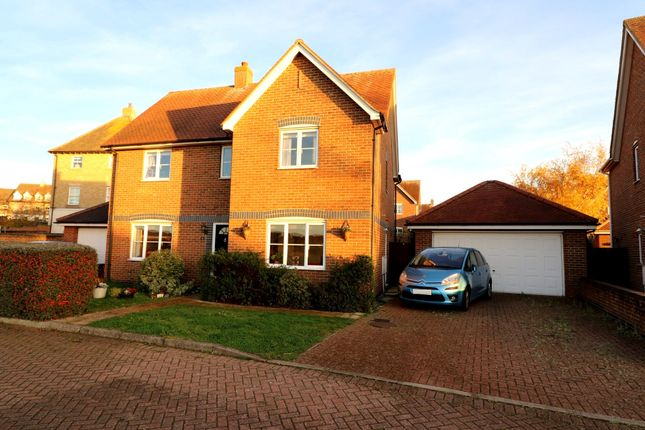Thumbnail Detached house for sale in Cygnet Walk, Stanway, Colchester