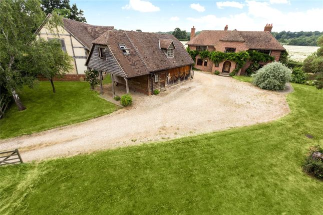 Thumbnail Detached house for sale in Thornford Road, Headley, Thatcham, Hampshire