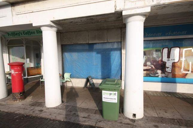 Thumbnail Retail premises for sale in 40 Marina, St Leonards On Sea