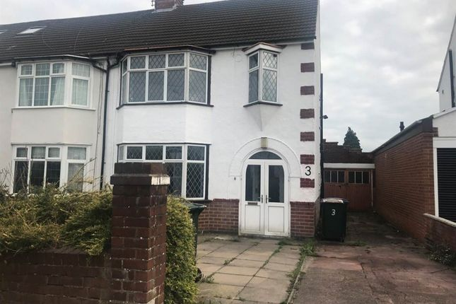 Thumbnail Semi-detached house to rent in Salisbury Avenue, Styvechale, Coventry