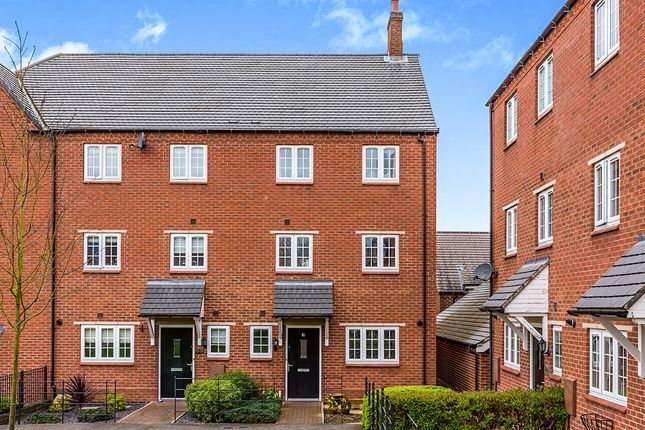 Thumbnail Terraced house to rent in Salford Way, Church Gresley, Swadlincote