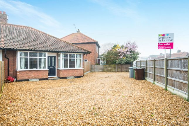 Thumbnail Semi-detached bungalow for sale in Allens Lane, Sprowston, Norwich