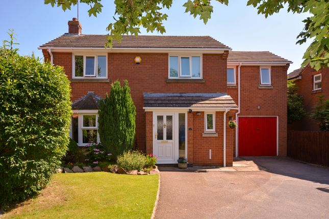 Thumbnail Detached house for sale in Heards Close, Wigston, Leicester