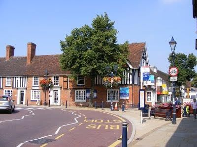 New Road & High Street Solihull Picture