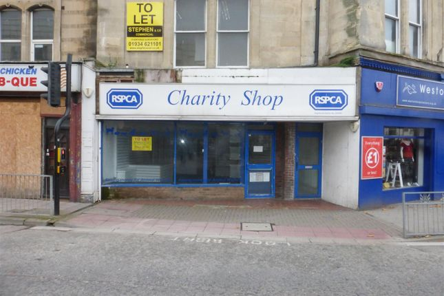 Thumbnail Retail premises to let in Walliscote Road, Weston-Super-Mare