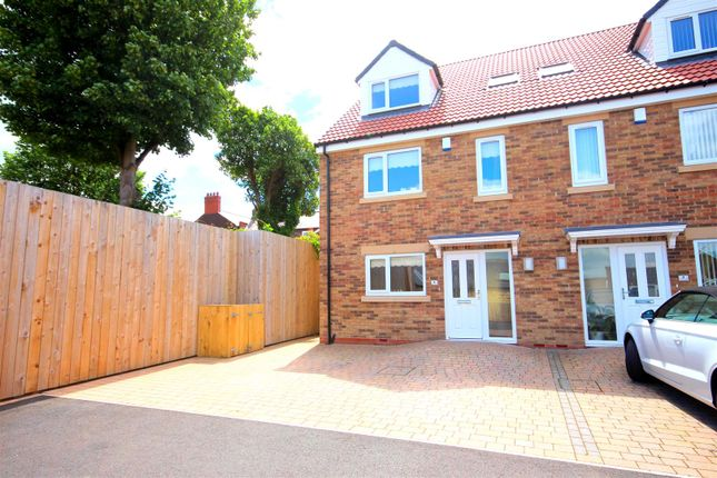Thumbnail Town house to rent in Croft Court, East Rainton, Houghton Le Spring