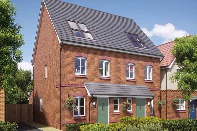 Thumbnail Semi-detached house for sale in Reynolds Place, Worsley Road North, Walkden