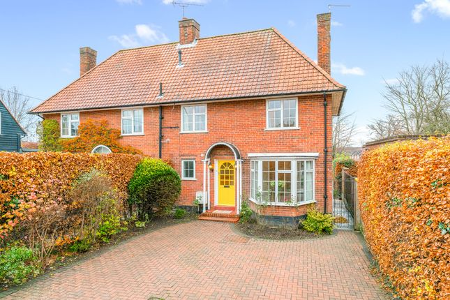 Thumbnail Semi-detached house for sale in Blakemere Road, Welwyn Garden City