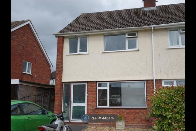 Thumbnail Semi-detached house to rent in Powis Avenue, Oswestry