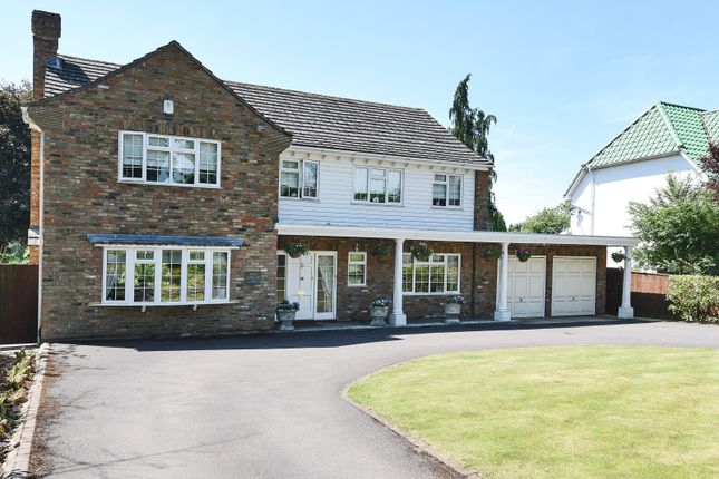 Thumbnail Detached house for sale in Kidmore End Road, Emmer Green, Reading