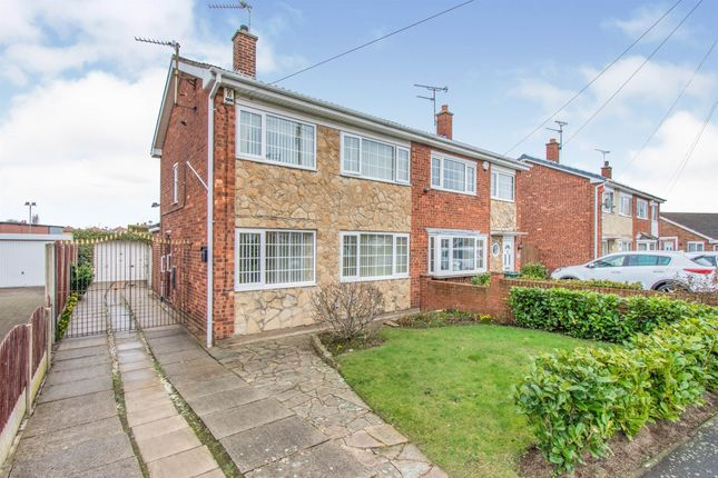 Thumbnail Semi-detached house for sale in Southfield Road, Armthorpe, Doncaster