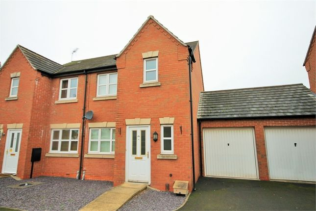 Thumbnail Semi-detached house to rent in Lawrence Avenue, Mansfield Woodhouse, Mansfield, Nottinghamshire