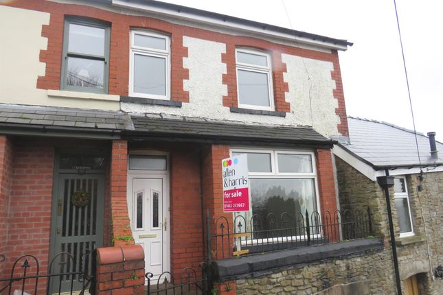Thumbnail Terraced house for sale in Edith Villas, Llantrisant, Pontyclun