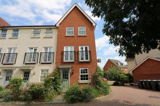 Thumbnail 3 bed semi-detached house to rent in Orchard Close, Eye