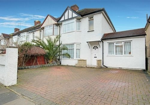 Thumbnail End terrace house for sale in Greenwood Avenue, Enfield