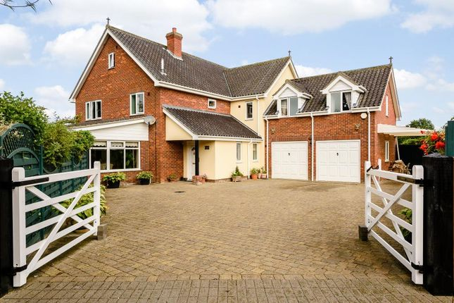 Thumbnail Detached house for sale in Gislingham, Eye