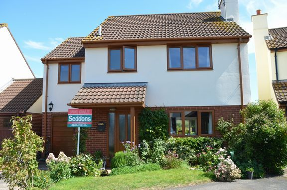 Thumbnail Detached house for sale in Ellerhayes, Hele, Exeter