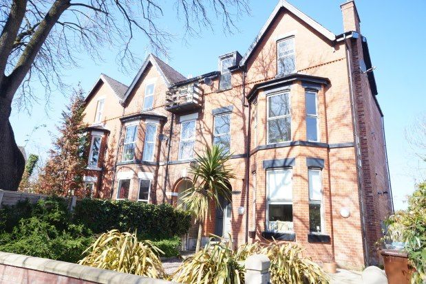 Thumbnail 2 bed flat to rent in Barlow Moor Road, Manchester