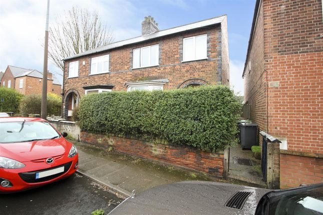 Front of Brookhill Street, Stapleford, Nottingham NG9