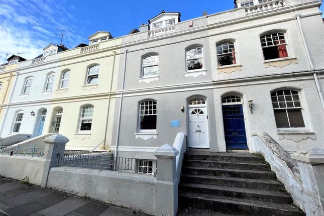Thumbnail Terraced house for sale in Citadel Road East, The Hoe, Plymouth, Devon