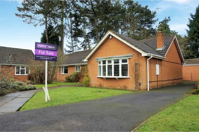 Thumbnail Detached bungalow for sale in Saxon Court, Tettenhall, Wolverhampton