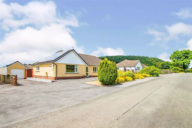 Thumbnail Detached bungalow for sale in Parc Annell, Crugybar, Llanwrda
