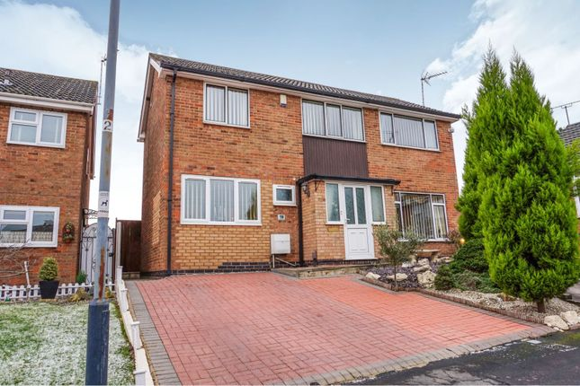 Thumbnail Detached house for sale in Holyoak Close, Bedworth