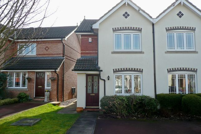 Thumbnail Mews house to rent in Calverley Close, Wilmslow