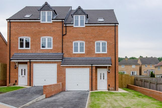 Thumbnail Semi-detached house for sale in Plot 4, The Horton, Healdfield Court, Castleford