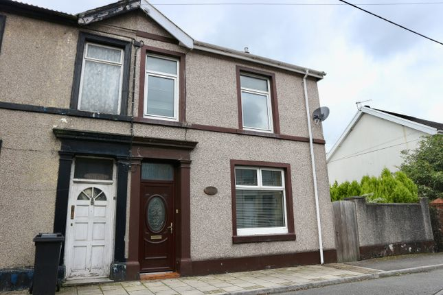 Thumbnail Semi-detached house for sale in Dyke Street, Twynyrodyn, Merthyr Tydfil
