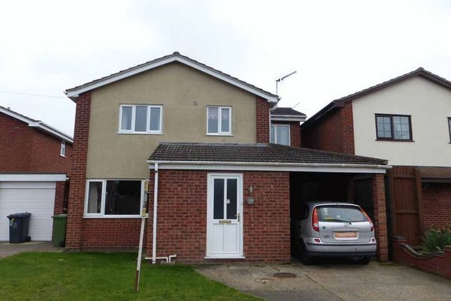 Thumbnail Detached house for sale in Pintail Drive, Bradwell, Great Yarmouth