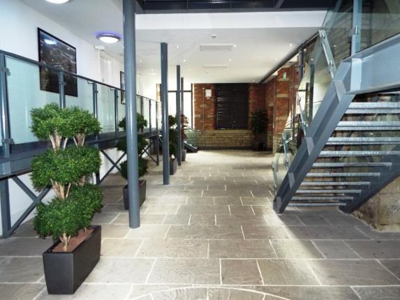 Lobby of Millroyd Mill, Huddersfield Road, Brighouse, West Yorkshire HD6