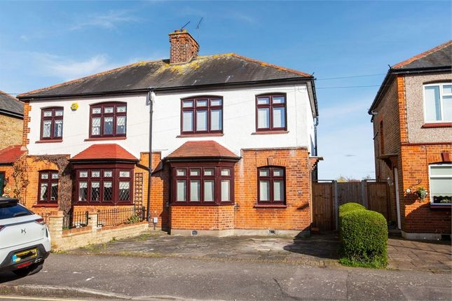 Semi-detached house for sale in Argyle Gardens, Upminster, Greater London