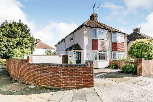 Thumbnail Semi-detached house for sale in Wentworth Drive, Dartford, Kent