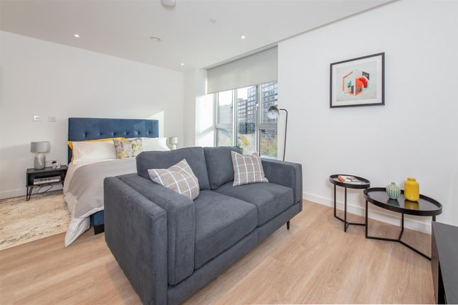 Living Area of Dearmans Place, Salford M3