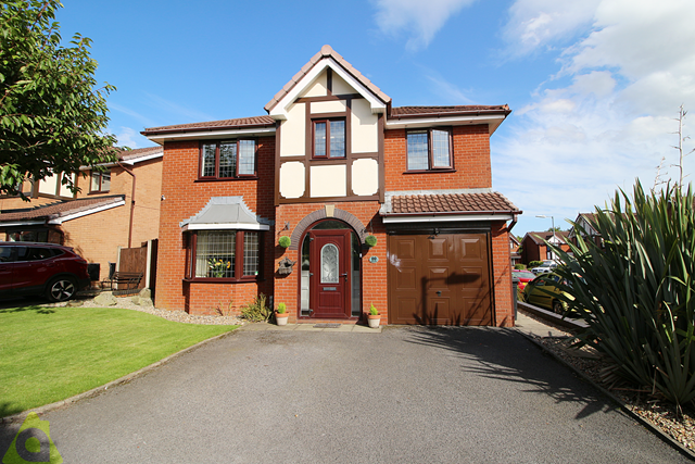 Thumbnail Detached house for sale in Eatock Way, Westhoughton