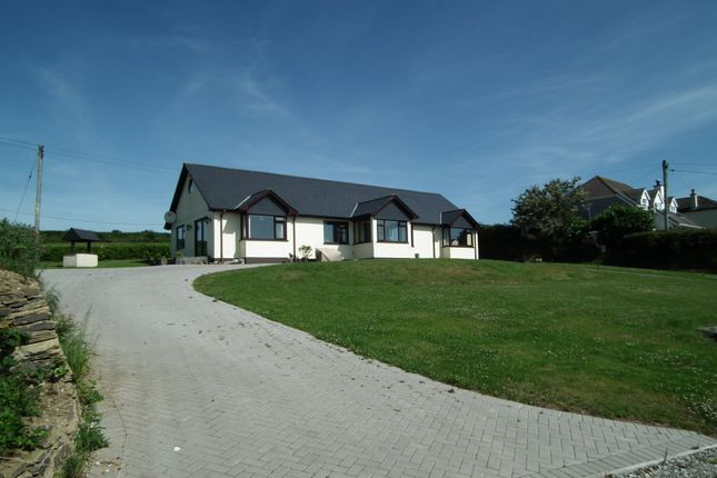 Thumbnail Detached bungalow for sale in Parkers Cross, West Looe, Cornwall