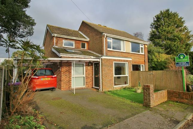 Thumbnail Detached house for sale in Lea Close, Hythe
