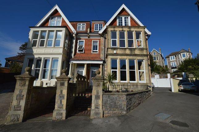 Thumbnail Semi-detached house for sale in Victoria Park, Weston-Super-Mare